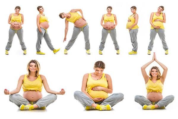 تمارين التمدد للحامل
