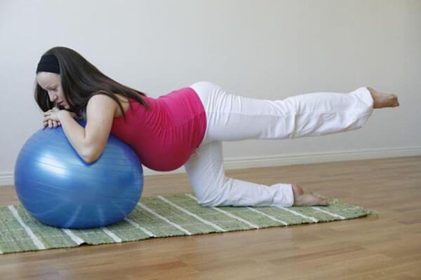 رياضة البيلاتس للحامل
