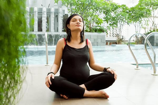 فوائد تمارين التنفس للحامل