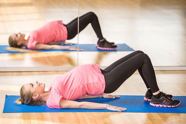 ممارسة تمارين البطن للحامل